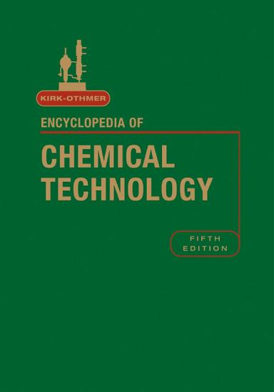 Kirk Othmer Encyclopedia of Chemical Technology  Index to Volumes 1   26 PDF