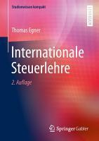 Internationale Steuerlehre PDF