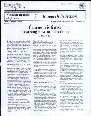 Crime Victims PDF
