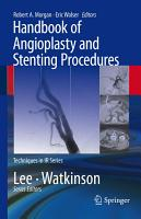 Handbook of Angioplasty and Stenting Procedures PDF