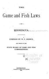 The Game and Fish Laws of Minnesota