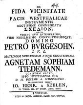De fida vicinitate in pacis westpalicae instrumentis rectissime commendata schedion