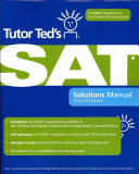 Tutor Ted s SAT Solutions Manual Book
