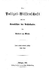 Die Polizei-Wissenschaft nach den Grundsätzen des Rechtsstaates: Band 1