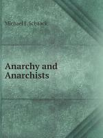 Anarchy and Anarchists