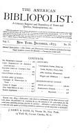 The American Bibliopolist PDF