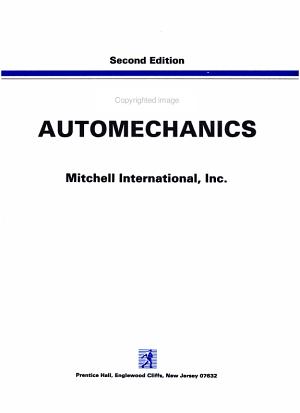 Mitchell Automechanics PDF