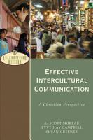 Effective Intercultural Communication  Encountering Mission  PDF