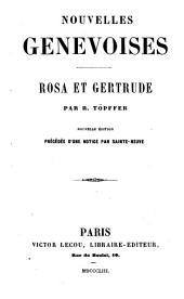 Nouvelles genevoises: Volume1