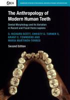 The Anthropology of Modern Human Teeth PDF