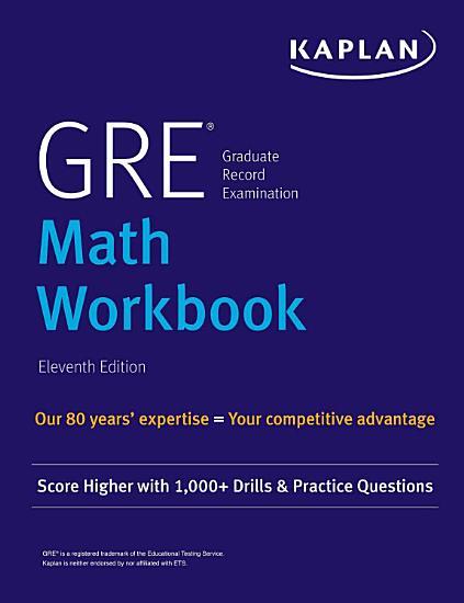 GRE Math Workbook PDF