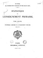 Statistique de l'enseignement primaire: Volume2