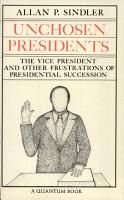 Unchosen Presidents PDF