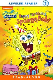 Happy Birthday, SpongeBob! Read-Along Reader (SpongeBob SquarePants)