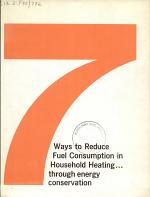 7 Ways to Reduce Fuel Consumption in Household Heating -- Through Energy Conservation