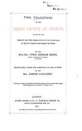 Mashlemanuta De-ʻIdta de Anṭiyukiya De-Suryaye