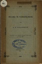 Malaria te Tandjong-Priok