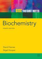 BIOS Instant Notes in Biochemistry PDF