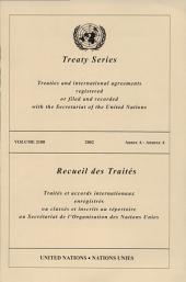 Treaty Series 2180 /2002: Annex A