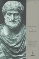Introduction To Aristotle Book PDF