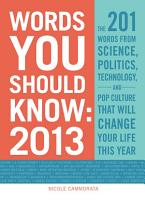 Words You Should Know 2013 PDF