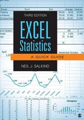 Excel Statistics: A Quick Guide, Edition 3