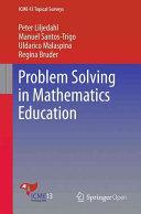 Problem Solving in Mathematics Education PDF