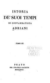 Istoria de' suoi tempi: Volume 3