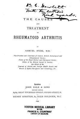 The Causes and Treatment of Rheumatoid Arthritis
