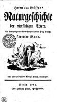 Herrn von Buffons Naturgeschichte der vierf  ssigen Thiere PDF
