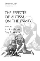 The Effects of Autism on the Family PDF