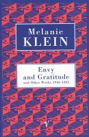 Envy And Gratitude And Other Works 1946 1963 PDF