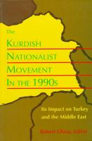 The Kurdish Nationalist Movement in the 1990s PDF