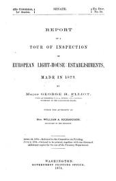 Report of a Tour of Inspection of European Lighthouse Establishments, Made in 1873