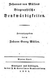Johannes von Mullers Sammtliche Werke