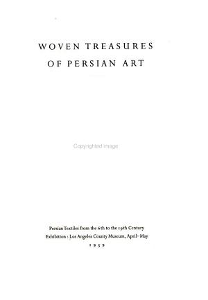 Woven Treasures of Persian Art PDF
