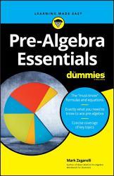 Pre Algebra Essentials For Dummies PDF