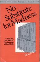 No Substitute for Madness PDF