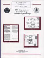 Proceedings 1995 Symposium on Document Image Understanding Technology PDF