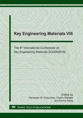 Key Engineering Materials VIII