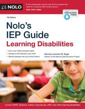 Nolo's IEP Guide: Learning Disabilities, Edition 7
