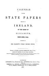 Calendar of the State Papers Relating to Ireland, of the Reigns of Henry VIII., Edward VI., Mary, and Elizabeth: Preserved in the State Paper Department of H. M. Public Record Office, Volume 3