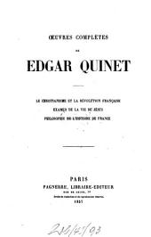 Oeuvres complètes: III
