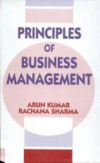 Principles Of Business Management PDF