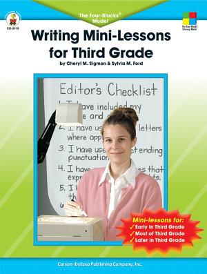 Writing Mini Lessons for Third Grade  Grade 3