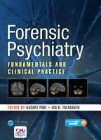 Forensic Psychiatry PDF
