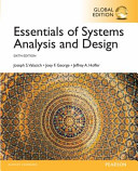 Essentials of Systems Analysis and Design  Global Edition PDF