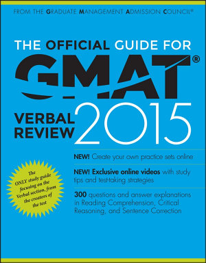 The Official Guide for GMAT Verbal Review 2015 PDF