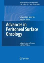 Advances In Peritoneal Surface Oncology Book PDF