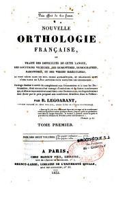 Nouvelle orthologie française
